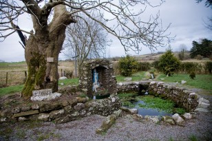 Brigid's well, Kildare, Ireland