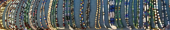 Array of Goddess Gemstone necklaces available early in 2019.